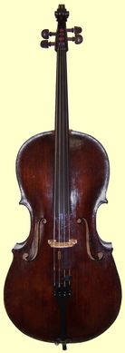 Johann Christian Ficker Cello, circa the late 1700s (SOLD)