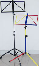Portable music stand