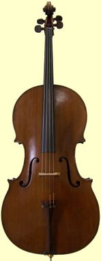 French Cello, circa 1900-1910 (SOLD)